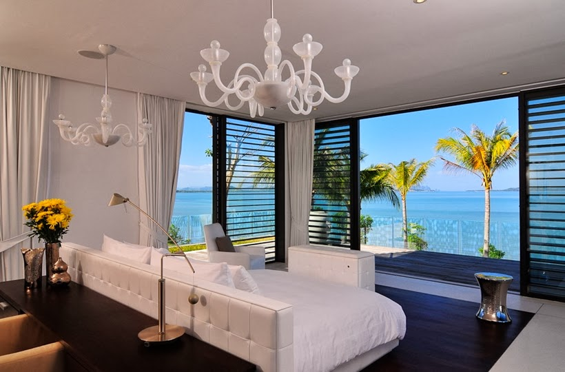 Bedroom in Contemporary villa in Phuket, Thailand