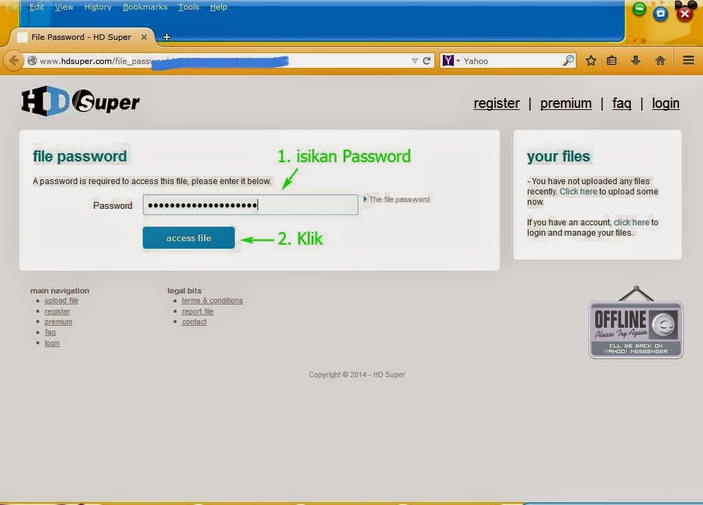 Cara Download file Di HDSuper Terbaru 2014