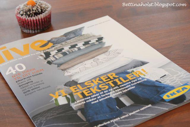Maler gulvet og noget om at være i Ikea magasinet - Bettina Holst Blog