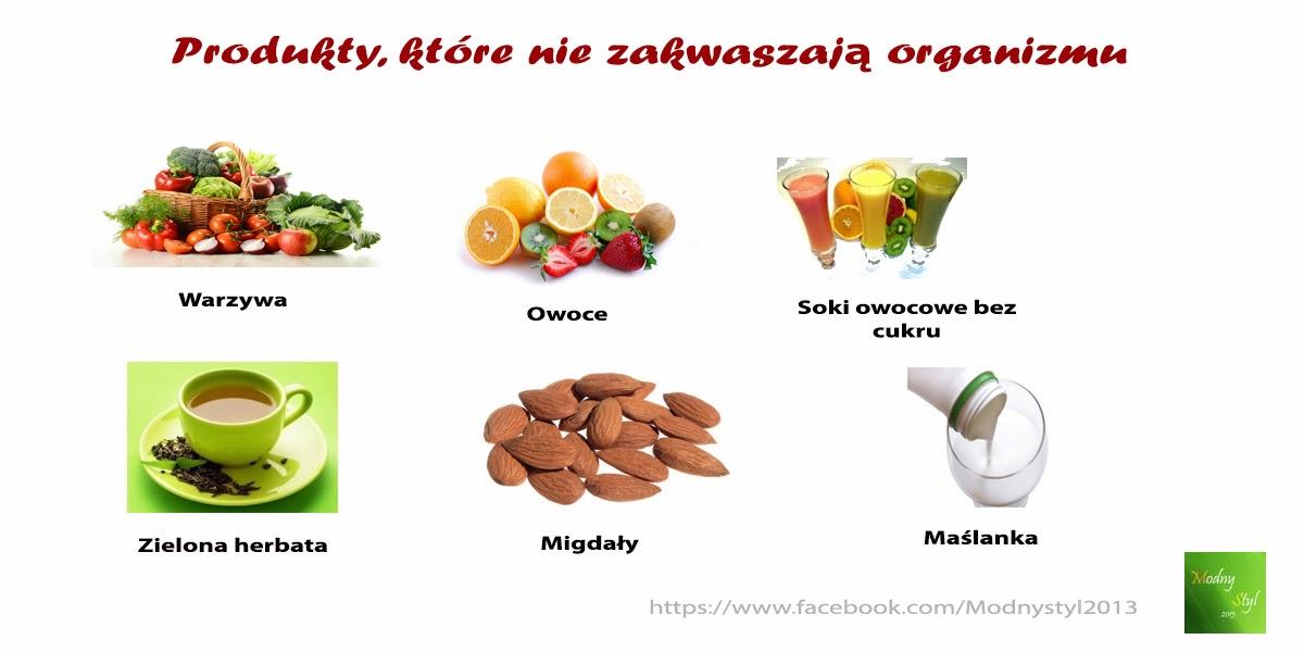 Produkty, które nie zakwaszają Naszego organizmu
