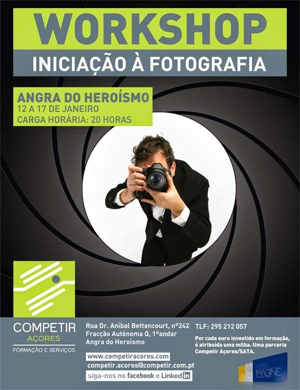 Workshop de iniciação à fotografia em Angra do Heroísmo