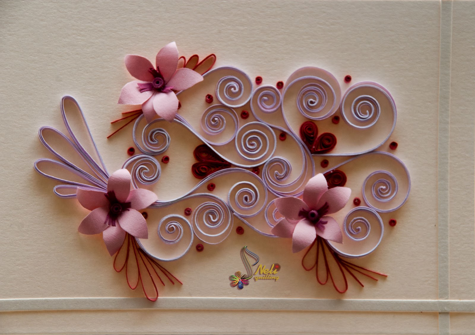 Aparador Sala De Jantar ~ Neli Quilling Art Quilling cards With love  2