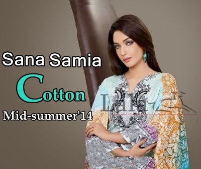 Sana & Samia Cotton Collection 2014