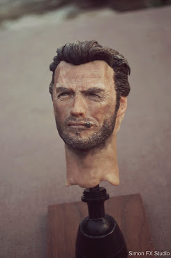 Clint Eastwood 1:3 Scale