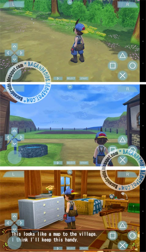 Harvest Moon Hero of Leaf Valley android iso rar
