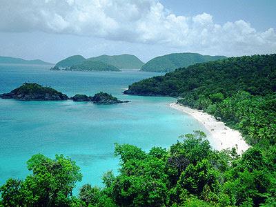Trunk Bay, beach, pantai, indah, National Park, USA, virgin, island, beach nature picture, best photos of nature, islands of the world, nature around, nature photographers, the beauty of the beaches of the world