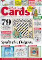CURRENTLY FEATURED ON THE COVER OF THE DECEMBER ISSUE OF MAKING CARDS MAGAZINE
