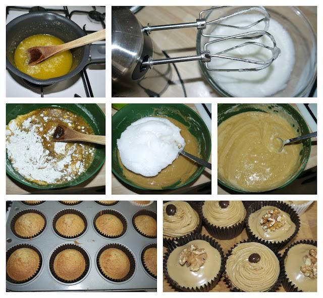 cake, baking, muffins
