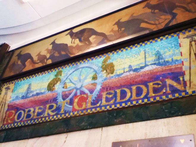 Gledden Arcade - Fauna and Flora Artwork