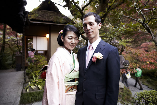 Matrimonio internacional en Japón