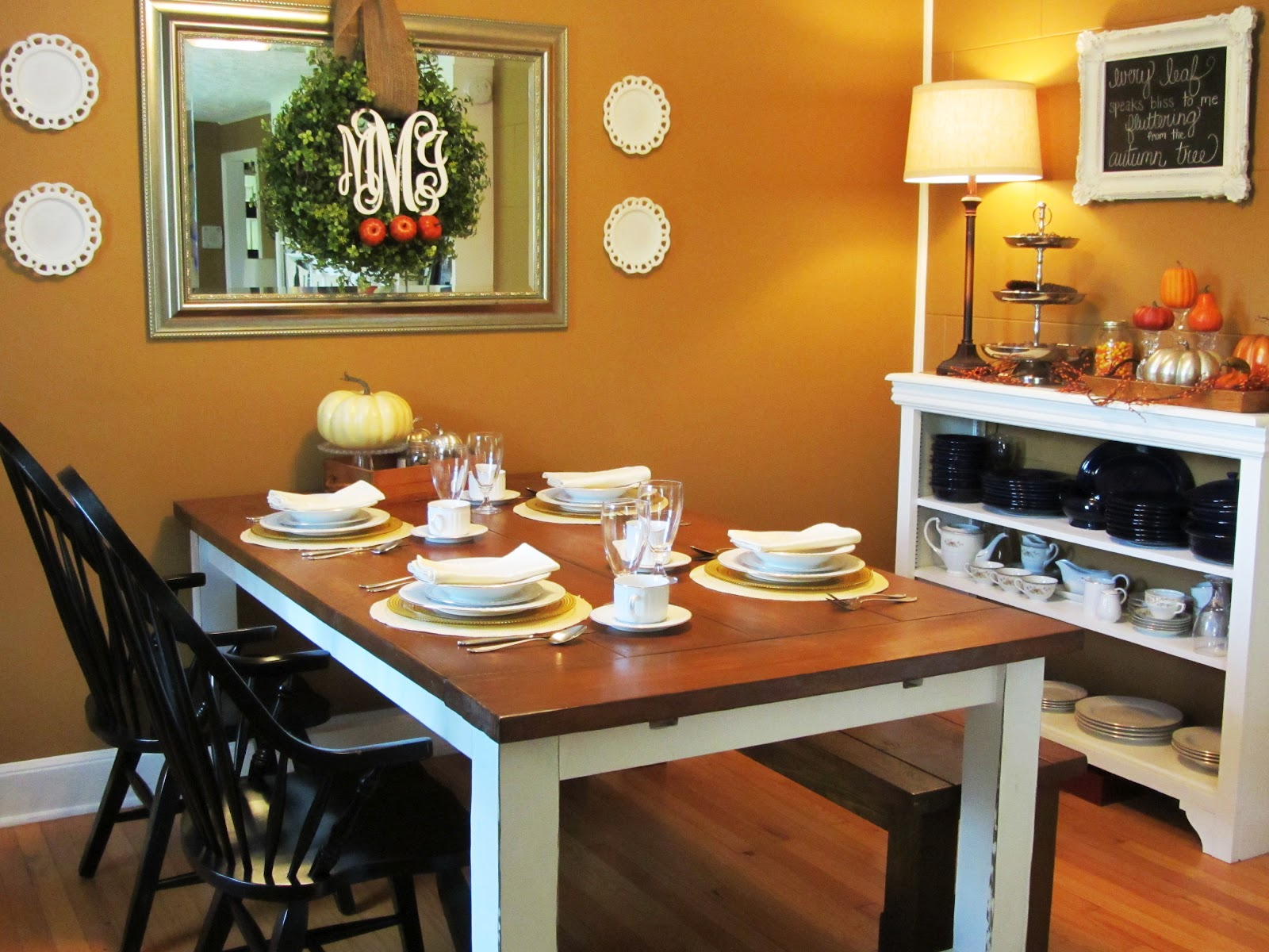 Love it! by Morgan: Our Fall Dining Room