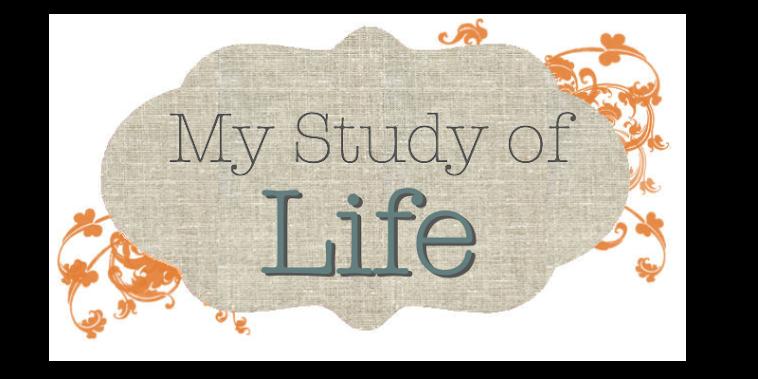 My Study of Life