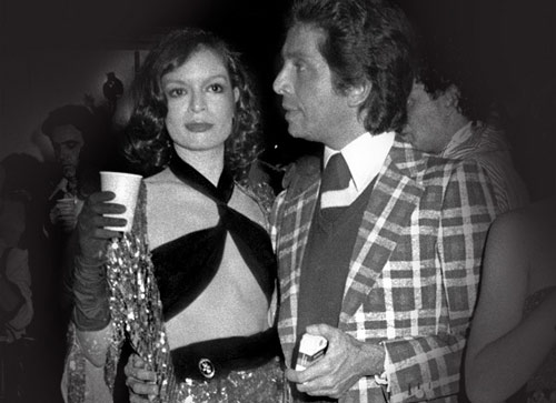 Bianca Jagger and Valentino, 1974