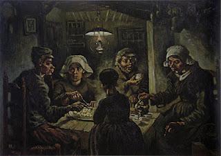 Os Comedores de Batata, de Van Gogh