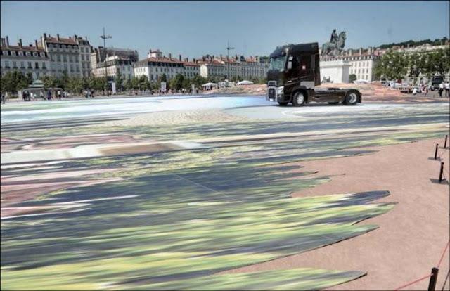 World's Largest 3D Art by Francois Abelane