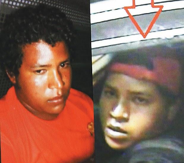 Outro suspeito pelo crime continua foragido (Foto: Almiro Lopes/Reprodução)