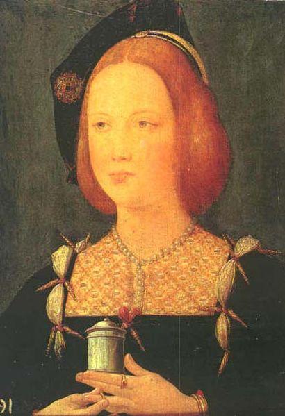Portrait Mary Tudor