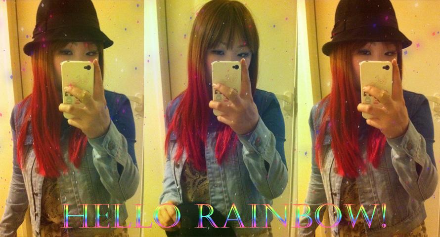 HELLO RAINBOW =)