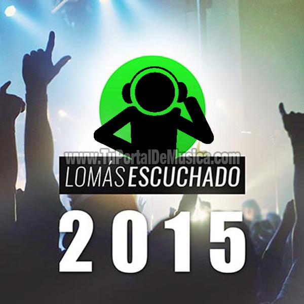 Lo Mas Escuchado Del Año (2015)