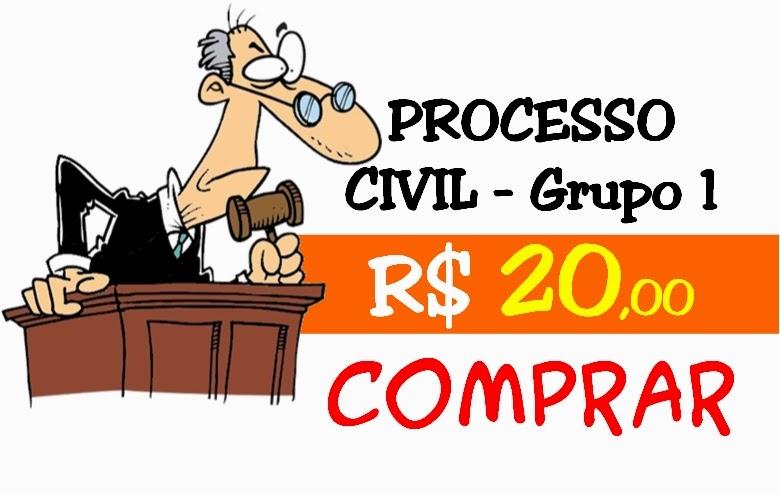 PROCESSO CIVIL - GRUPO 1