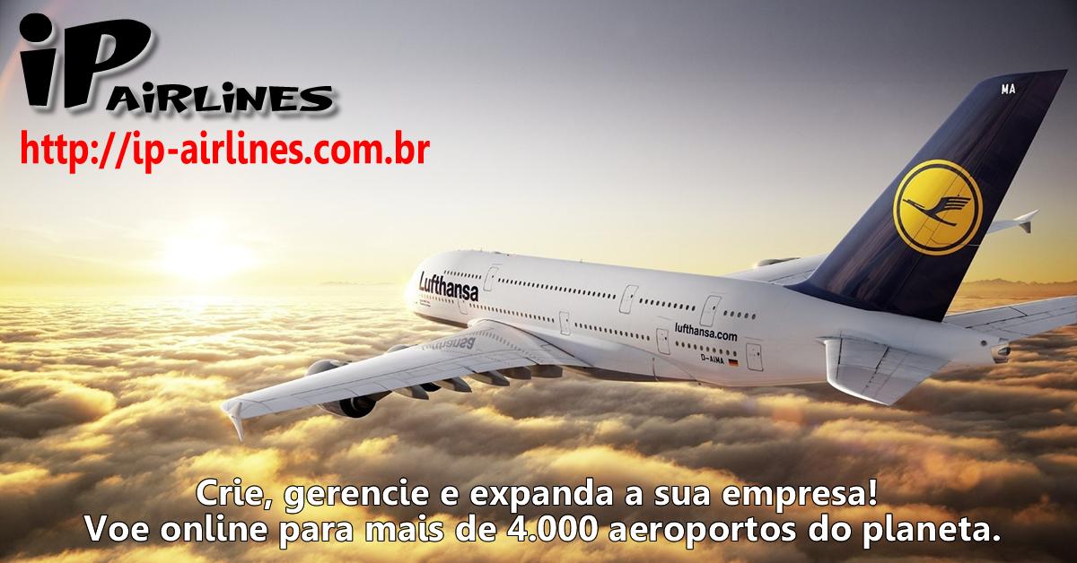 IP.Airlines - Simulador de companhias aéreas