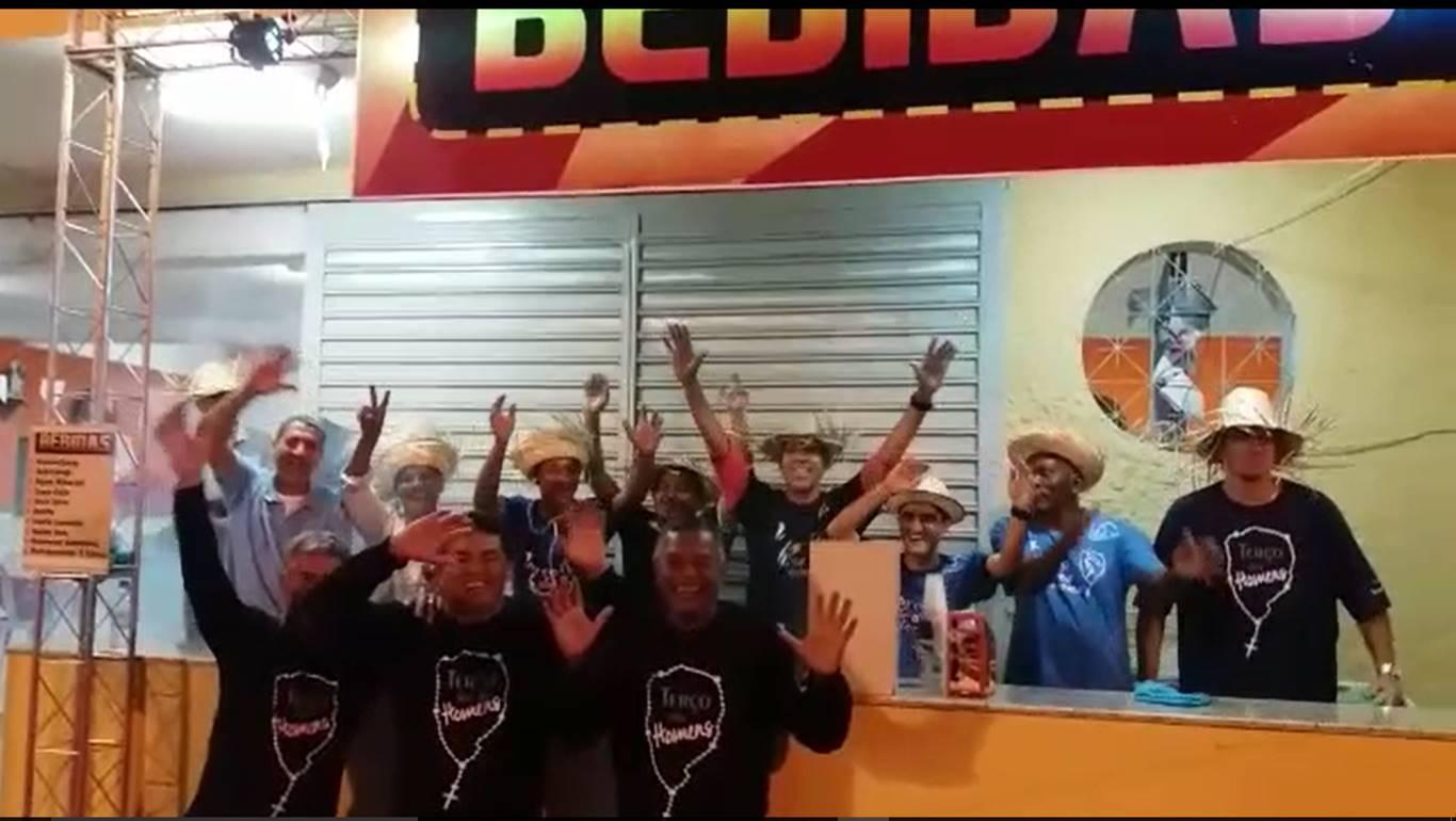 PARTICIPAÇÃO DO TERÇO DOS HOMENS NAS FESTAS JUNINAS E JULINAS DA PNSC-STA.CRUZ-RIO