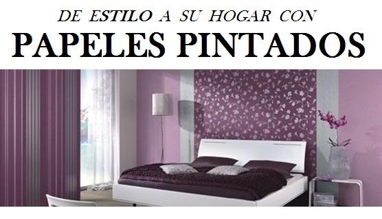Papeles pintados decoraciones stilo - Papeles pintados en madrid ...