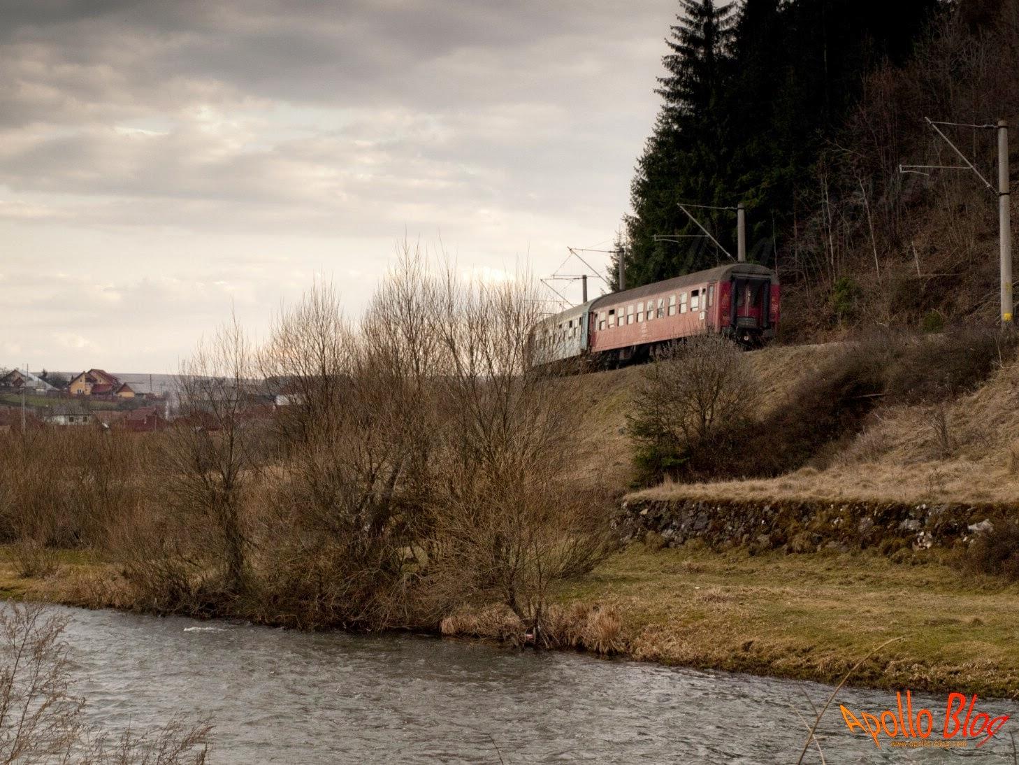 Tren in curba