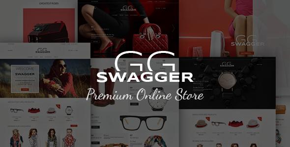 SWAGGER – Premium WordPress Online Store