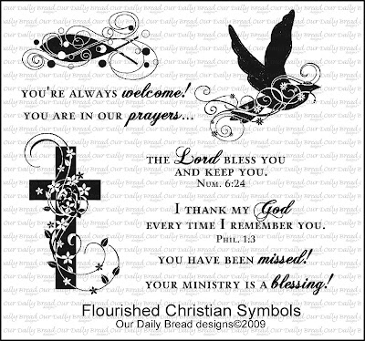 ODBD Flourished Christian Symbols