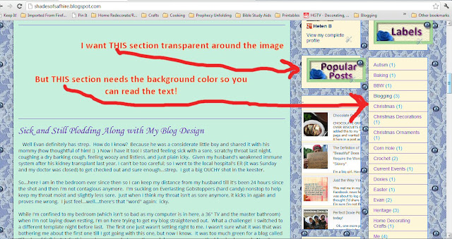 I need blog help! :) I need to move my images I embedded in sidebar gadgets to the center.  Not the gadget itself, just the images.  They're sliding off to the right..ugh