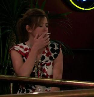 alyson hannigan smoking