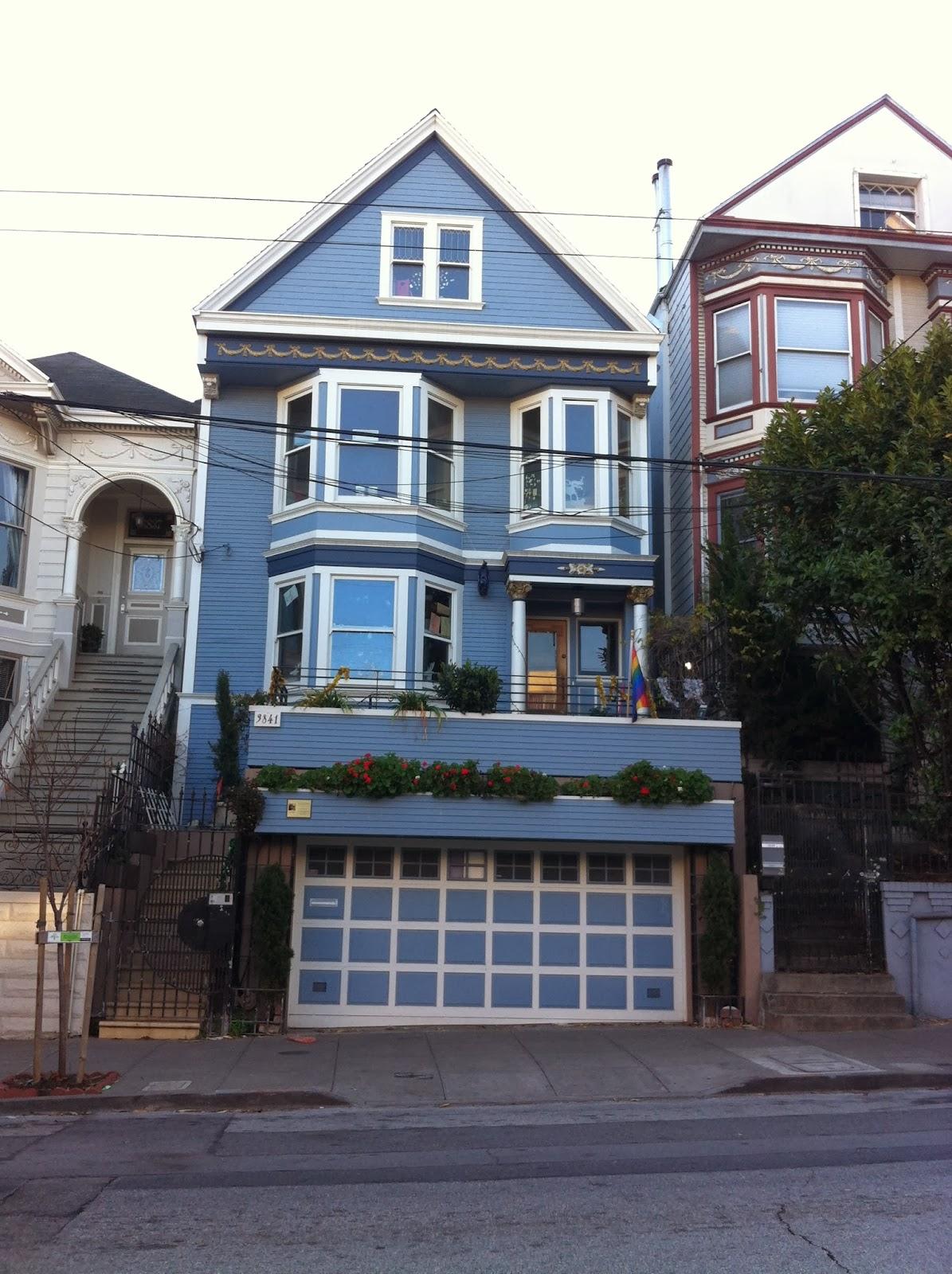 Mon america moi sf c 39 est une maison bleue - Chanson une maison bleue ...