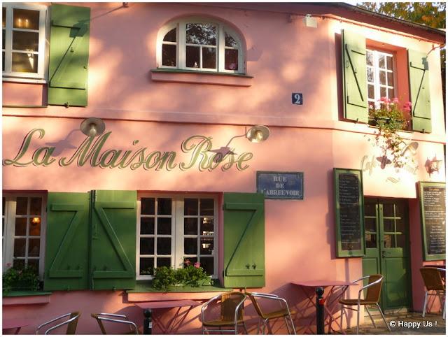 Montmartre - Maison Rose