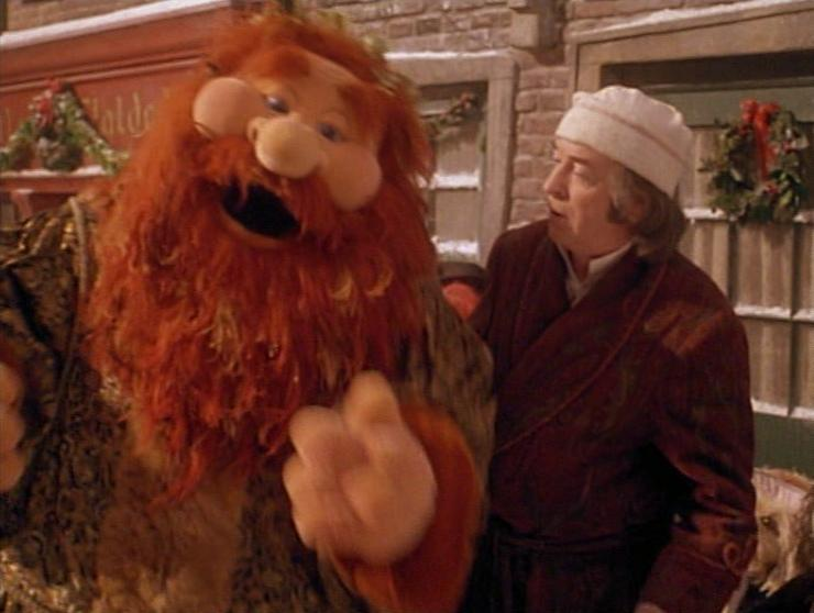anyway the next song isnt just the best in the movie its actually my favorite christmas song of all time it feels like christmas is delivered by the - Muppet Christmas Carol Songs