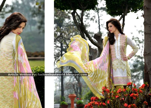 Gohar Lawn Collection 2015-2016 - 08