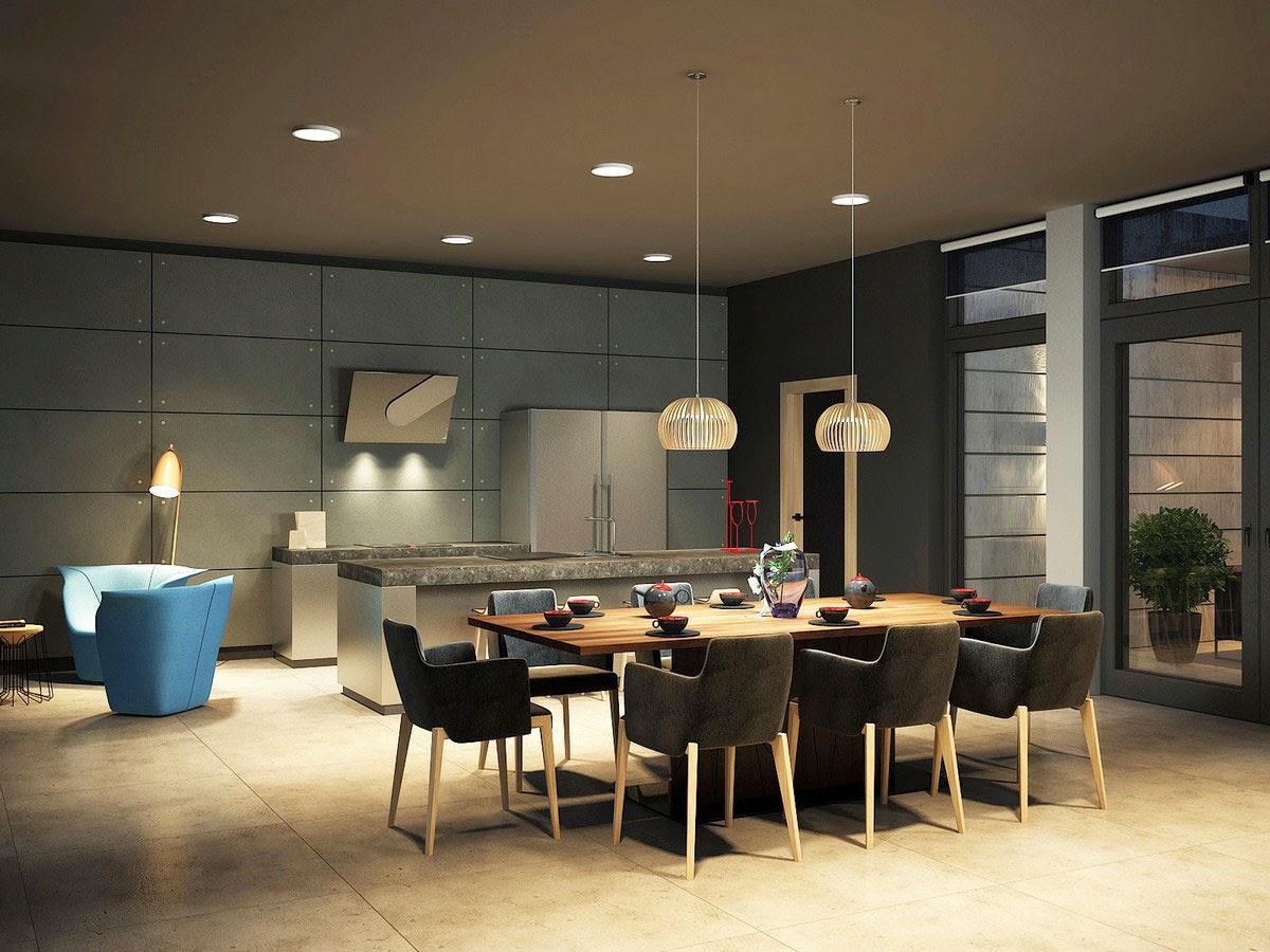 House-Minimalist-Dining-room-Minimalist