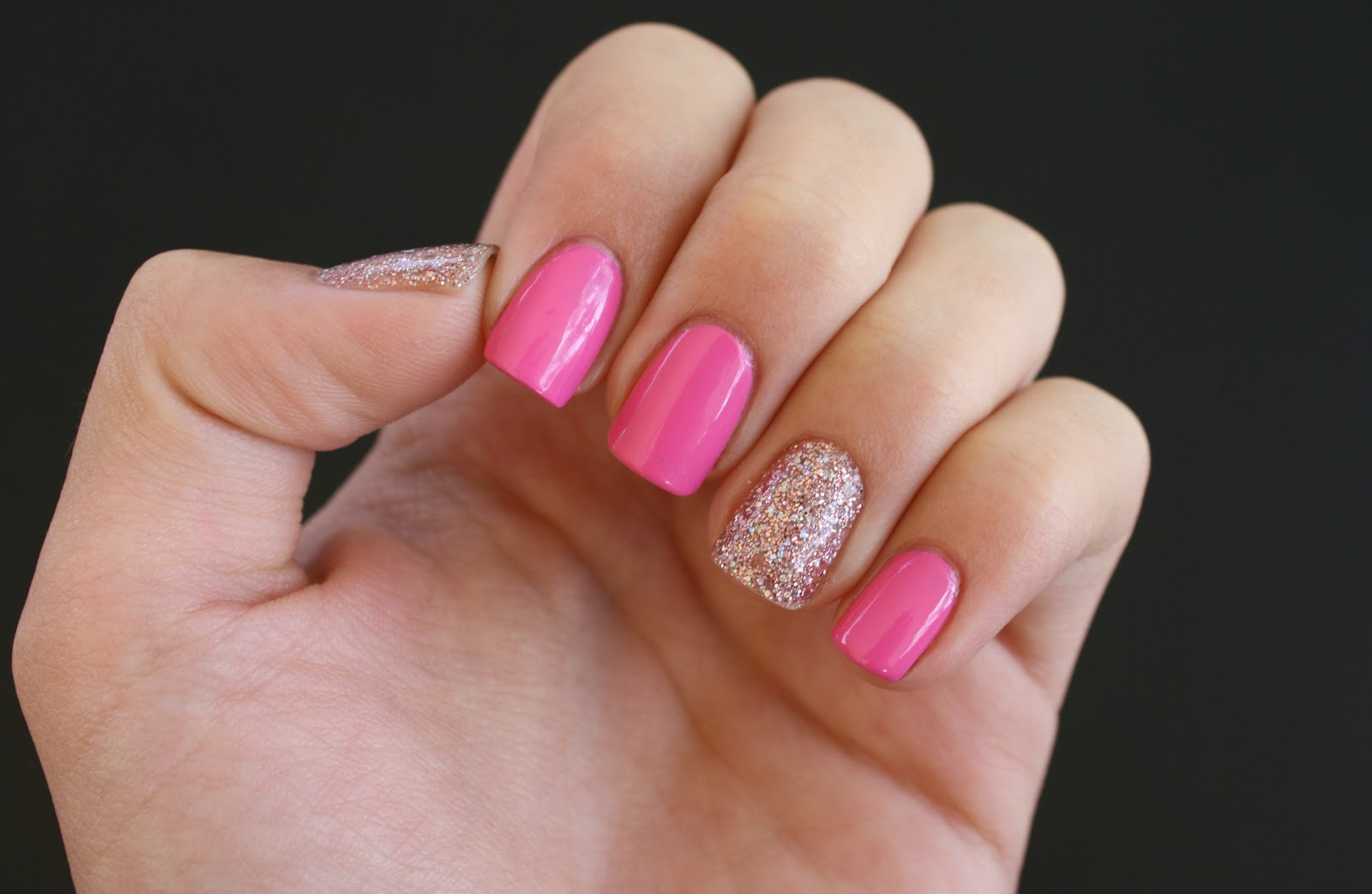 Lacquered with Love: Breast Cancer Awareness Oct. 2012 - Pink Nails