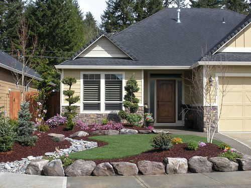 Landscape design ideas landscaping ideas for front yard for Front landscaping plans