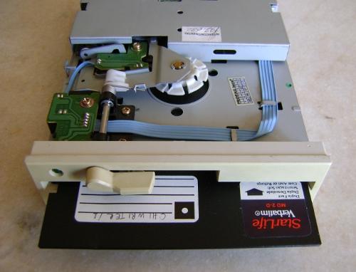 museek  6   le lecteur de disquette