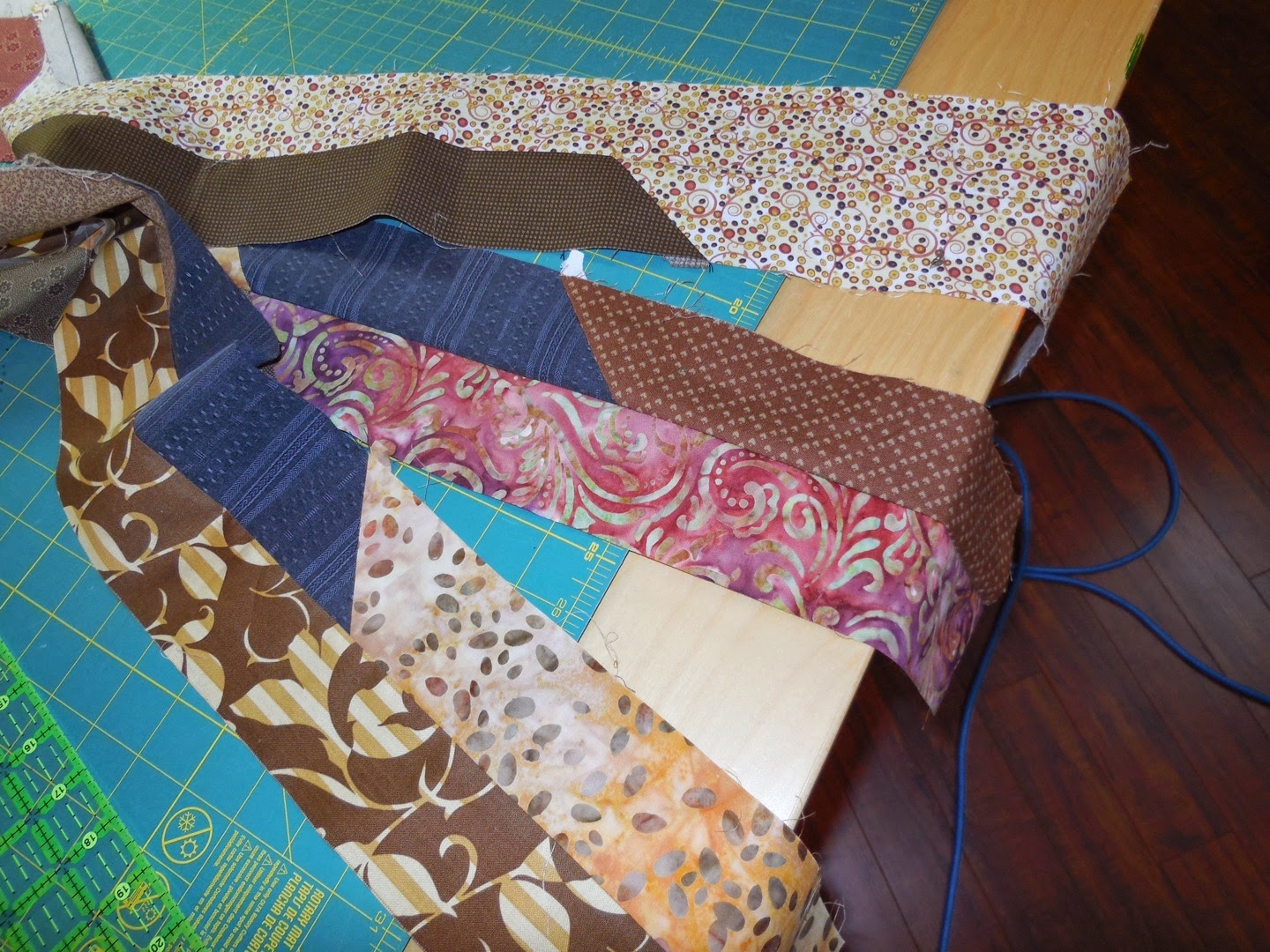 quilt setting strips