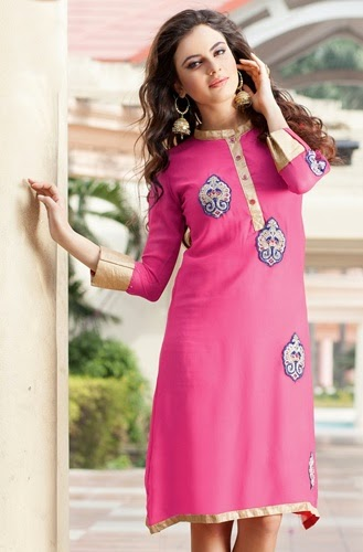 Embroidered Motifs Tunics