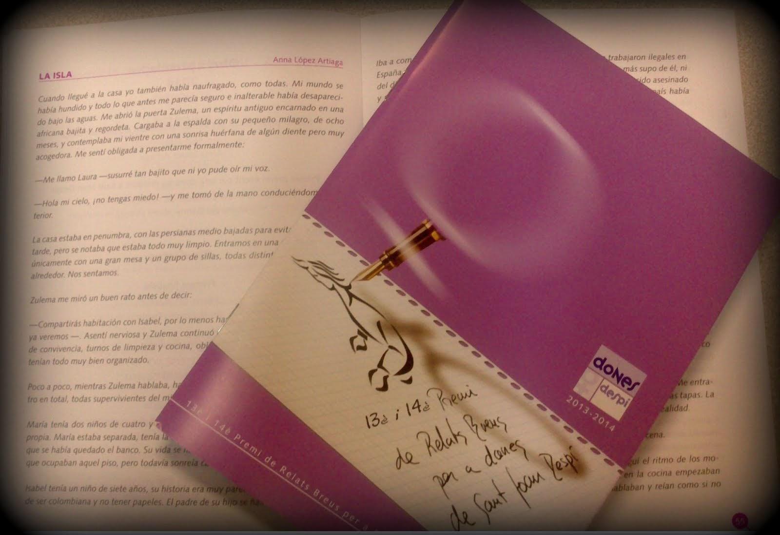 Dos de mis relatos publicados. Puedes descargar el libro haciendo clic en la imagen