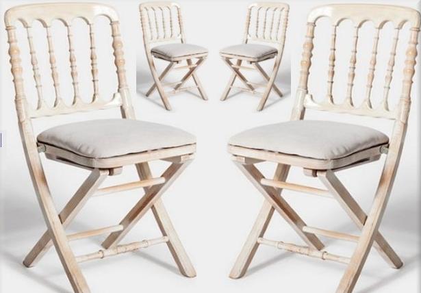 Empresas donde alquilar la decoraci n de tu boda blog de for Sillas blancas vintage