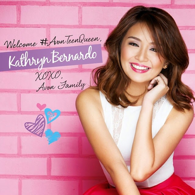 Kathryn Bernardo joins Avon PH family