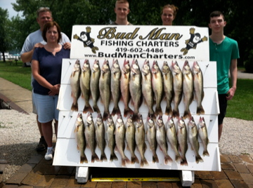Lake erie walleye fishing reports very busy july 7 4 to 7 9 for Odnr fishing report