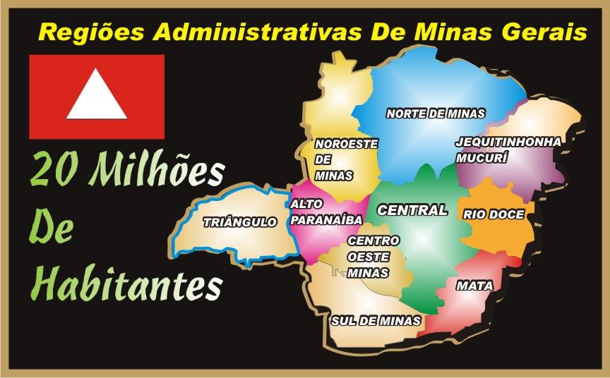 Minas Gerais 20 Milhões de Habitantes