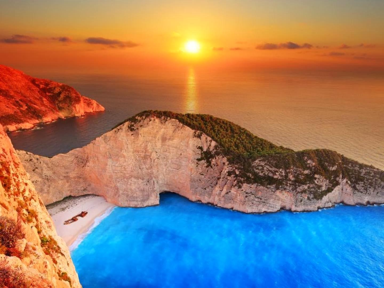 усамотен плаж в Гърция