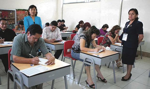 Inscripciones segunda escala magisterial 2016 enero 18 for Plazas de docentes 2016