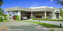 1365 Sq-ft 2 Bedroom Small House Design Keralahousedesign